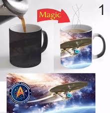 star trek mugs star trek magic mug heat reveal cup cold heat
