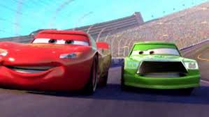 lightning mcqueen focuses cars disney video