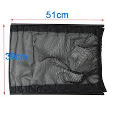 51 39cm update car mesh net curtains window sun shade styling