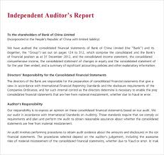 template for audit report excellent independent audit report template with paragraph format