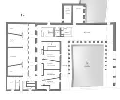 kimbell art museum floor plan gallery of louviers music rehabilitation and extension