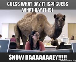 Snow Day Meme - why snow days are better than weekends and summer combined boils