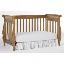 baby nursery modern baby crib with color white and wood 15