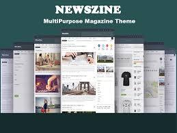 newszine multipurpose magazine theme wordpress magazine themes
