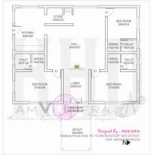 1500 square foot house plans with bat kerala house design plans