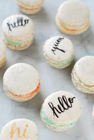 Wedding Cake Ingredients List Typography Http Macarons So Cute And The Ingredient List Is