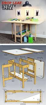 drop leaf table design drop leaf table plans furniture plans and projects woodarchivist