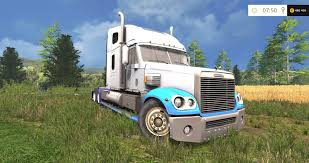 minecraft semi truck freightliner coronado v2 5 modhub us