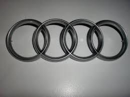 audi rings audi rings emblem for engine cover ebay
