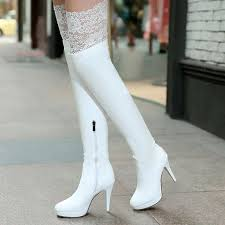 s knee boots on sale sale brand lace the knee boots high heels