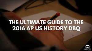 ap us history document based essay