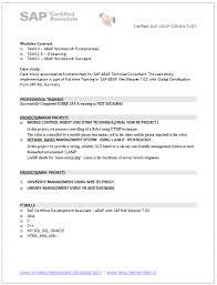 Security Resume Sample by Sapsdresumesample Sample Sap Resume Sample Sap Resume Over 10000