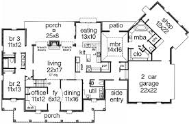 southern style floor plans sumptuous design 14 colonial style house floor plans southern