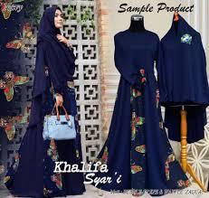 Baju Muslim Ukuran Besar baju muslim jumbo b065 khalifa syar i gamis ukuran besar