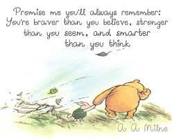 winnie pooh printable quote baby nursery description