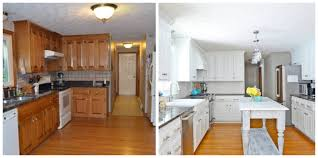 Kitchen Makeovers Photos - before and after room transformations amazing room makeovers