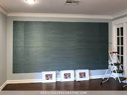Gray Grasscloth Wallpaper by A Peek At The Entryway Grasscloth Accent Progress Plus How To