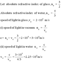 Speed Of Light Constant Questions And Answers Cbse Icse Solutions Cbse Icse Study