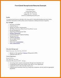 Example Of Receptionist Resume by 9 Salon Receptionist Resume Resume Holder