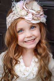 baby girl headbands and bows bow de ballet baby girl flower headband 2219894 weddbook