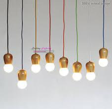 Diy Pendant Lights Original Wood Muuto E27 Socket Suspension L Lights Diy Hanging