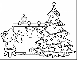 hello christmas tree marvelous hello christmas coloring pages with christmas tree