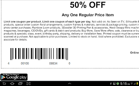 coupons for michaels canada android apps on google play