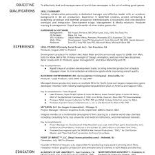 sample project manager resume 19 resume sample for a project
