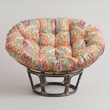 papasan chair cover venice papasan chair cushion world market