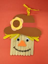 popsicle stick scarecrow pictures photos and images for