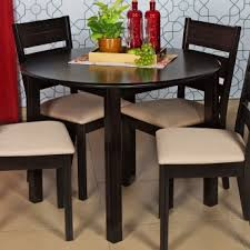 round dining table 4 chairs montoya round dining table without chairs 4 seater dining tables