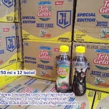 Teh Botol Sosro Kemasan Karton jual teh gelas botol 250 ml x 12 botol per karton special edition