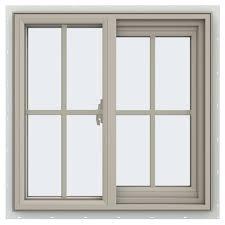 tafco windows 23 5 in x 23 5 in utility left hand single sliding