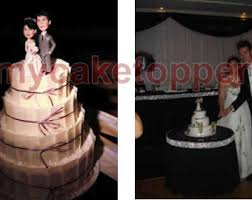 personalized wedding cake topper bride and groom cake topper