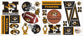university of missouri tigers removable wall decals wall2wall university of missouri tigers removable wall decals