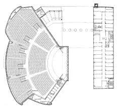 alvar aalto floor plans ad classics house of culture alvar aalto archdaily