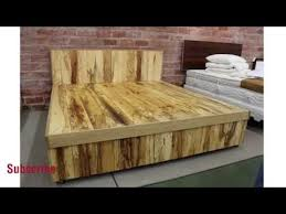 design modern wooden beds youtube
