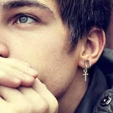 clip on earrings for men clip on earring for men clip earrings set cross hoop