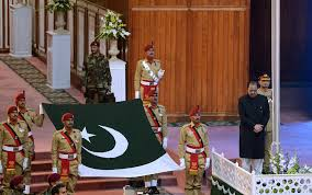 Flag Of Pakistan Pics Pakistan Marks 70 Years Of Independence In Pictures The National