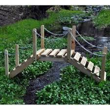 Backyard Bridge Garden Bridges On Hayneedle Landscape Bridge For Sale