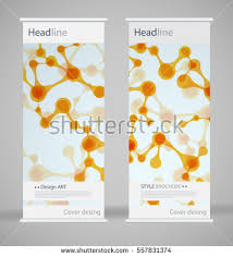 fancy brochure templates brochure cover design abstract roll up stock vector 557831374
