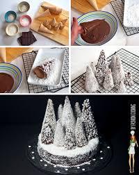 cuisine de de noel tree forest cake la bûche de noël revisitée forêt de