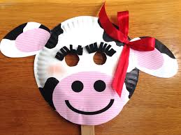 the 25 best cow mask ideas on pinterest cow craft farm animal