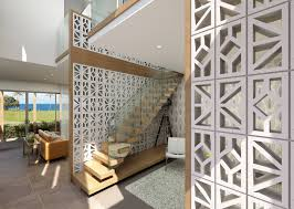 Decorative Cinder Blocks Decor Awesome Decorative Cinder Blocks In White For Exterior
