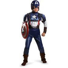 transformers halloween costumes captain america muscle child halloween costume walmart com