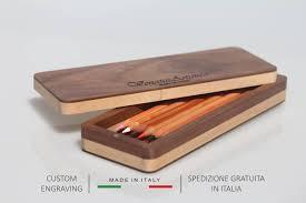 Custom Desk Accessories by Wood Pencil Box Wooden Pencil Case Desk Accessories Pencil