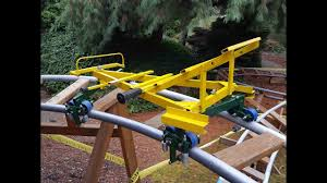roller coaster for backyard secrets of backyard roller coaster design and a yard tour of