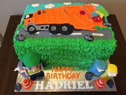 garbage trucks for kids surprise garbage truck cake crissa u0027s cake corner