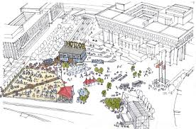 Copley Square Boston Map by Boston City Hall Plaza U0027s Redevelopment Would Create A Truly Epic