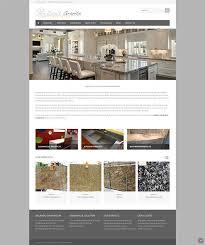 Award Winning Interior Design Websites by Showcase Orlando Web Design For Award Winning Granite Company